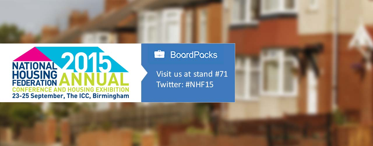 #NHF15 , NHF Annual Conference and Housing Exhibition 2015
