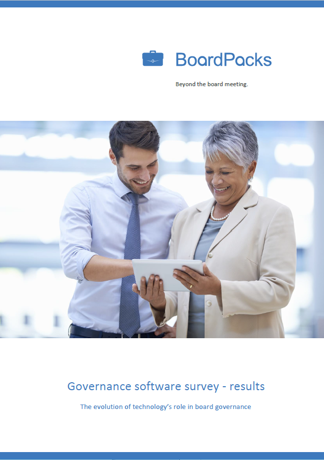governance software survey