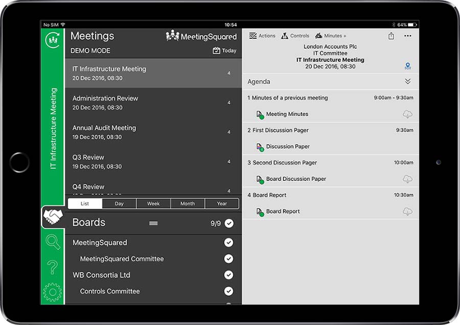 SharePoint Tablet Meetings